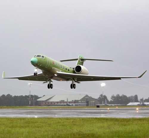 4th Gulfstream G600 Test Aircraft Makes 1st Flight