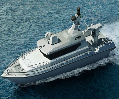 ADSB Launches First UAE-Made Fast Patrol Boats at NAVDEX 2021