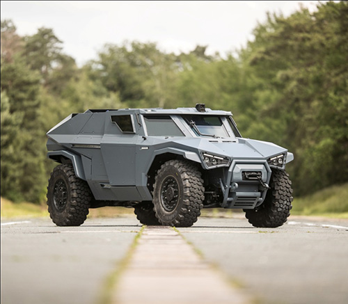 ARQUUS Developing Scarabee, a Vehicle of the Future
