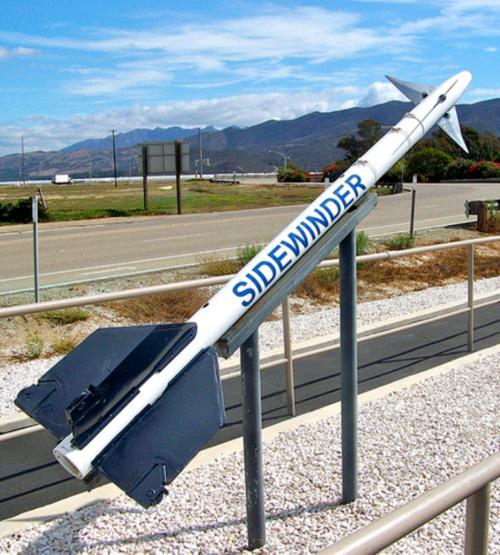 Orbital ATK Wins Order for Sidewinder Missile Rocket Motors