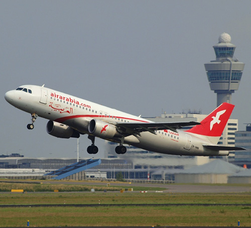 Air Arabia Receives Two New Airbus A320 Aircraft