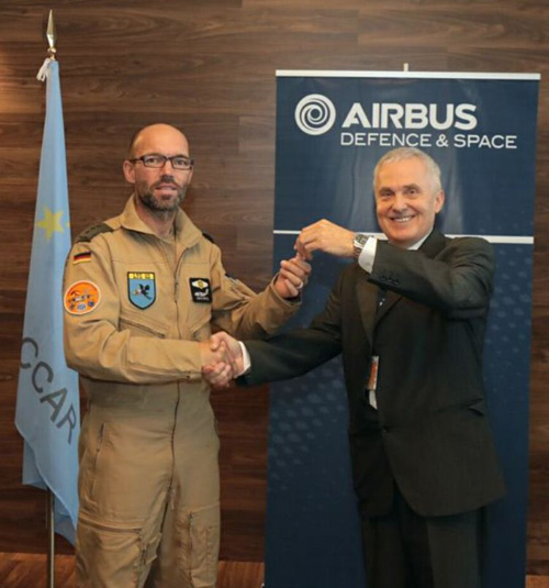 Airbus Defence and Space Hands Over 50th A400M