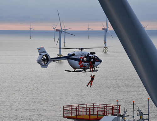 Airbus Helicopters Focuses on Wind Turbine Growth Market