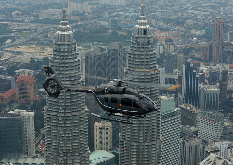 Airbus Helicopters Starts New H145 Demo Tour in Asia