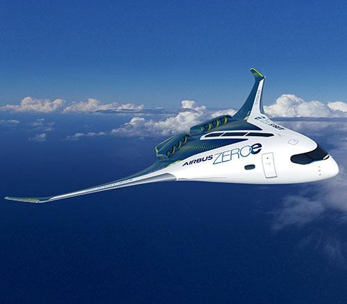 Airbus Reveals New Zero-emission Concept Aircraft