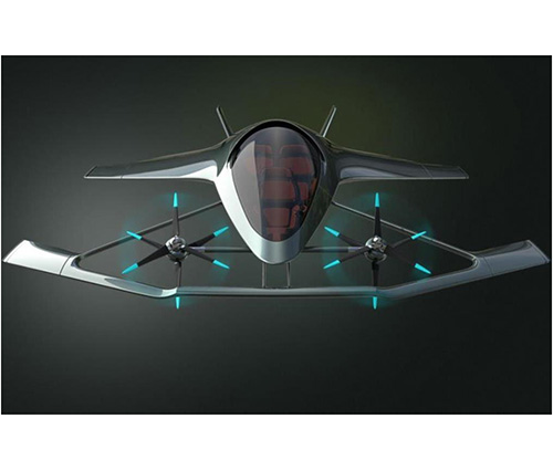 Aston Martin, Partners Reveal First Flying Car Concept