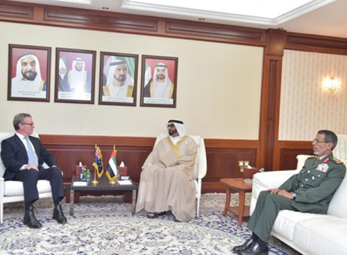 Australian Defense Minister Visits UAE