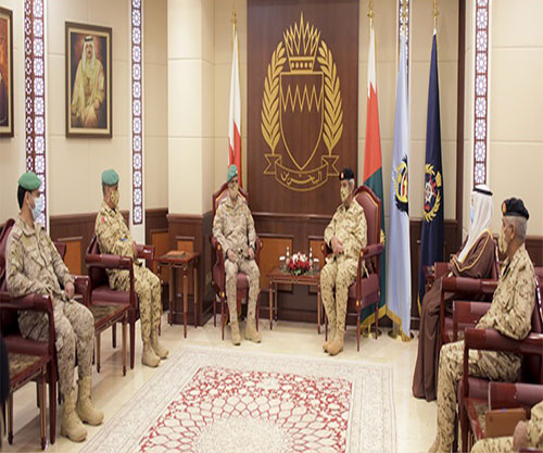 Bahrain's Commander-in-Chief Receives Peninsula Shield Forces Commander