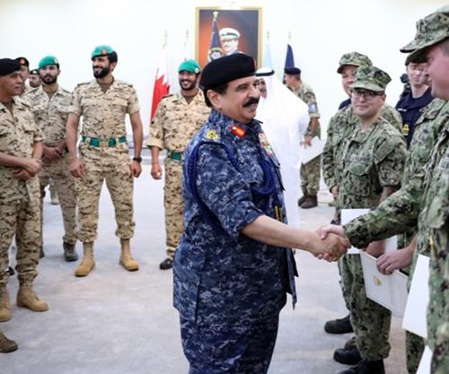 Bahrain's King Visits Royal Bahrain Naval Force