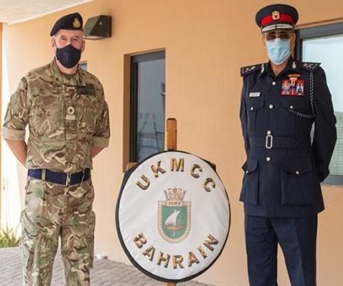 Bahrain Coast Guard Commander Visits UK Naval Support Facility
