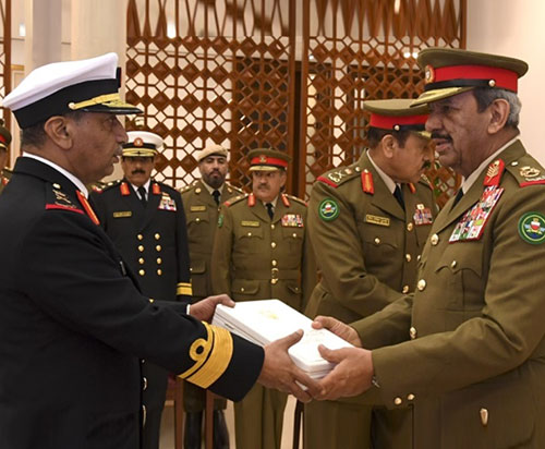 Bahrain Defense Force Celebrates 52nd Anniversary