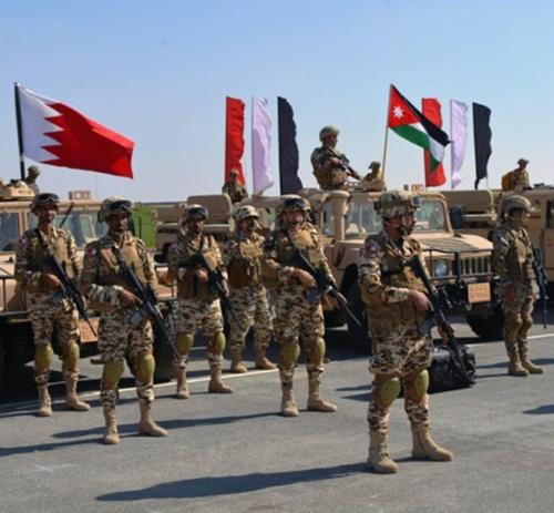 Bahrain Participates in 'Arab Shield 1' Drill