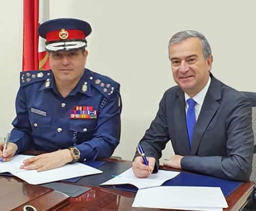 Bahrain Polytechnic, Interior Ministry Sign MoU