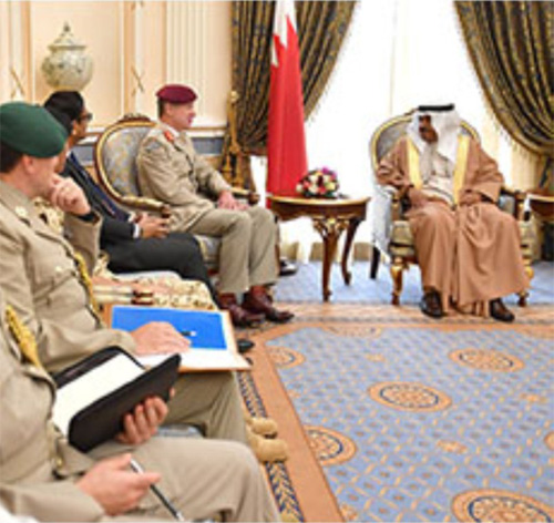 UK Senior Defense Adviser to the Middle East Visits Bahrain