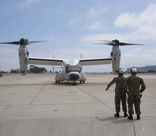Bell Boeing Delivers First Fleet CMV-22B to US Navy