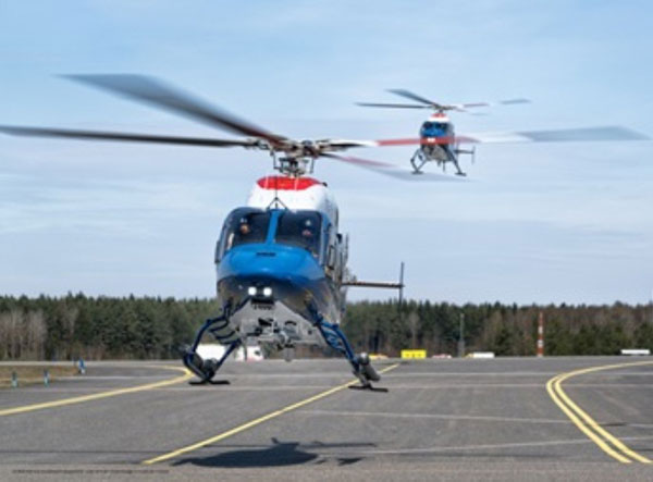 Bell Helicopter Delivers 7 Bell 429s to Swedish National Police