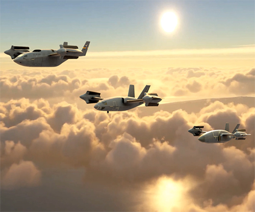 Bell Unveils New High-Speed VTOL Design Concepts for Military Application