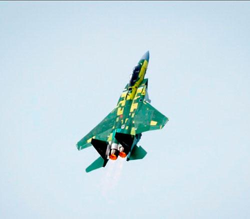 Boeing's F-15 Qatar Advanced Jet Completes First Flight