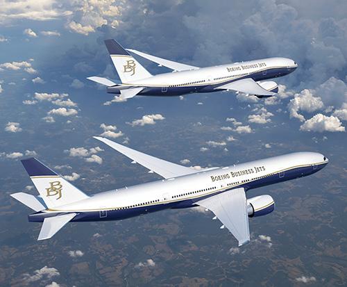 Boeing Launches Longest-Range Business Jet - BBJ 777X