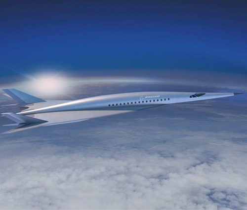 Boeing Reveals New Hypersonic Jet Design