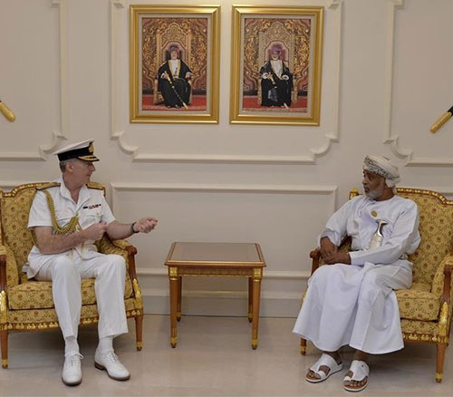 British Chief of Naval Staff Visits Sultanate of Oman