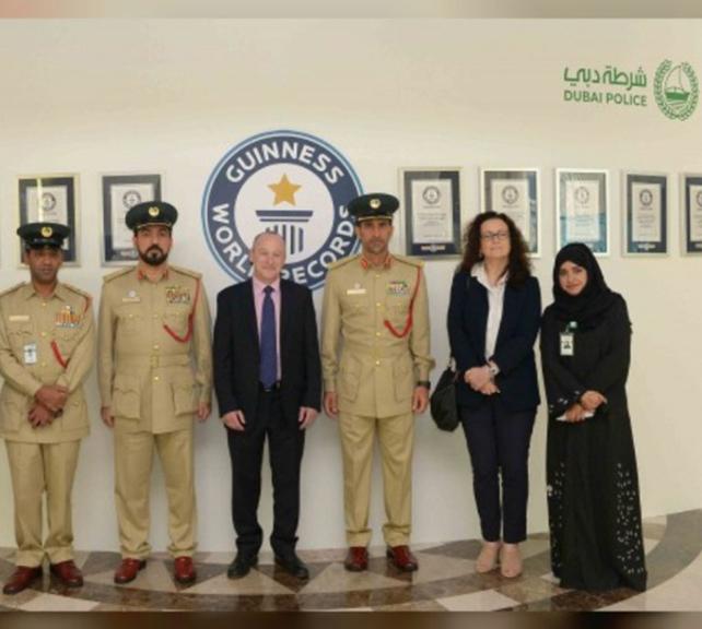 CEO of Guinness World Records Hails Dubai Police