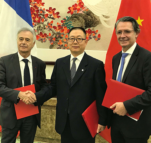 CFM Concludes $9.1 Billion Agreements With China