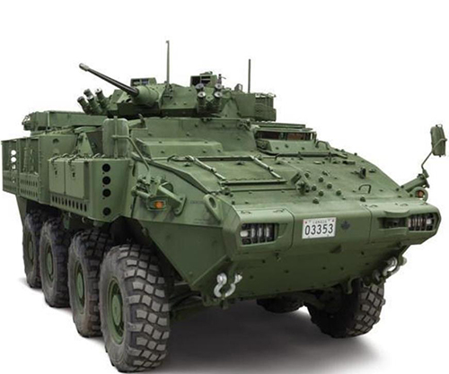 Canada to Buy 360 Light Armored Vehicles from GDLS-C