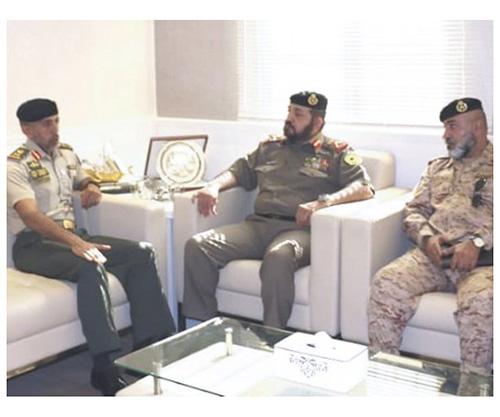 Chairman of Kuwait's National Military Service Visits UAE