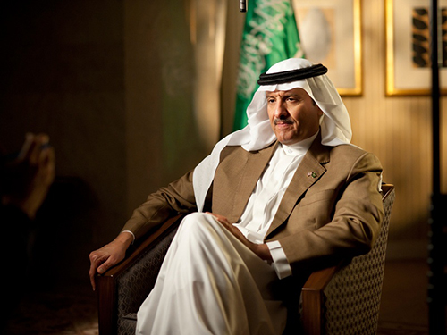 Chairman of Saudi Space Agency Meets President of SpaceX