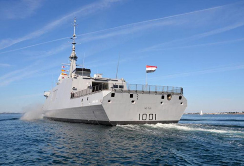 Charles de Gaulle Carrier Joins Egypt-France Military Drill