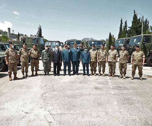 China Grants 100 Military Vehicles to Lebanese Army