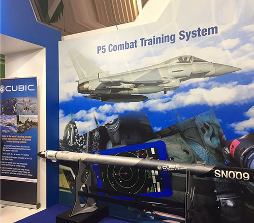 Cubic Wins Air Combat Training Systems Order for USAF & Arab Users