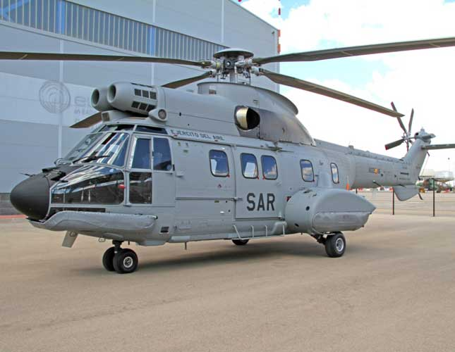 Airbus Helicopters Delivers First H215 to Spanish Air Force