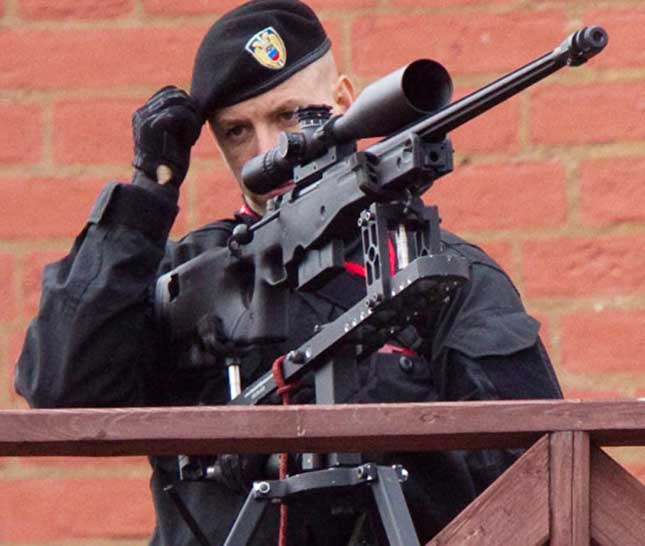 Russia Launches World's Lightest Heavy Sniper Rifle