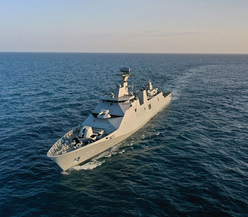 Damen Completes Combat Systems Installation on Indonesian Guided Missile Frigate
