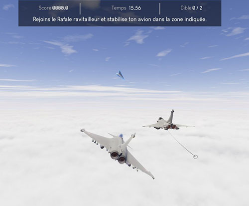 "Dassault Aviation Introduces ""Aboard the Rafale"" Animated Application"