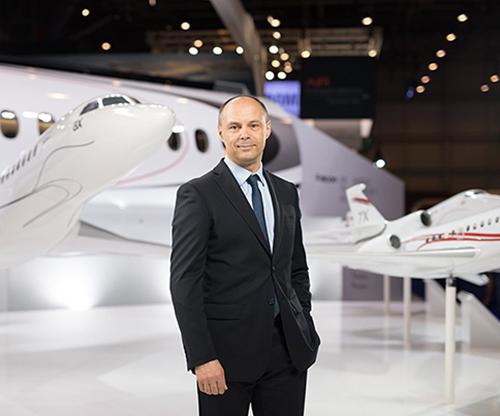 Dassault Aviation Names Carlos Brana Executive VP of Civil Aircraft