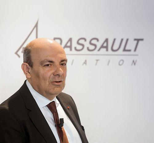 Dassault Aviation Renews Chairmanship of Eric Trappier