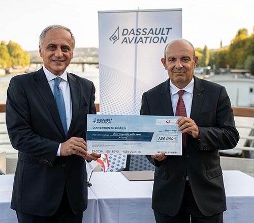 Dassault Aviation Stands by Lebanon