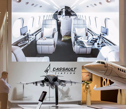 Dassault Aviation Takes Part in EBACE 2018