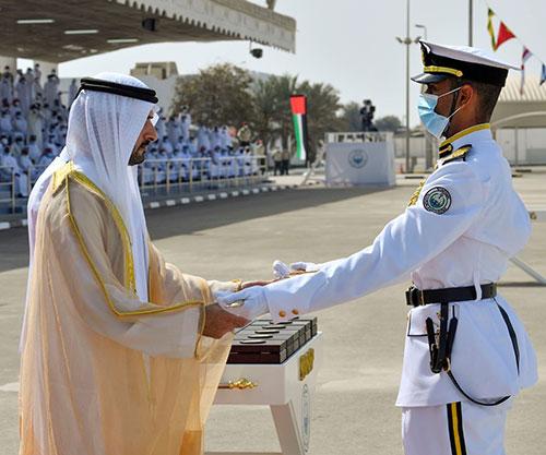 Dubai Crown Prince Attends Graduation at Rashid bin Saeed Al Maktoum Naval College