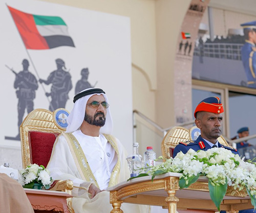 Dubai Ruler Attends Graduation of Khalifa bin Zayed Air College