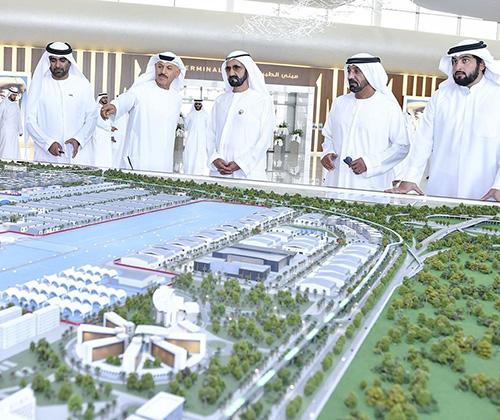 Dubai Ruler Hails 'Dubai Aviation City Project'