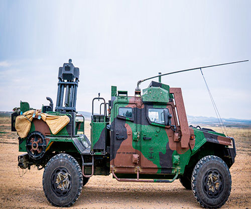 EXPAL Demos New Dual-EIMOS to Spanish Defense Ministry Delegation