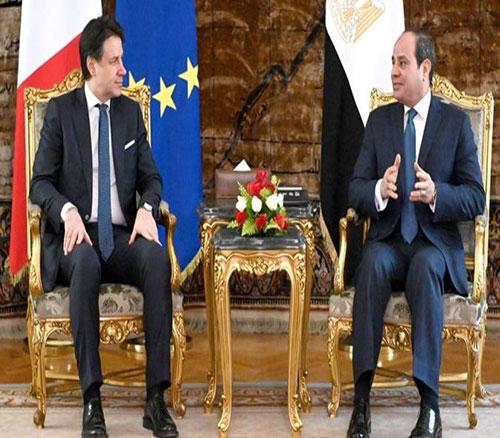 Egypt, Italy Discuss Economic, Military Cooperation