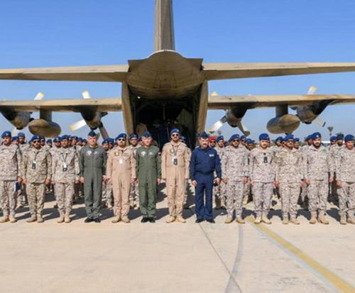 Egypt Hosts 'Arab Shield 1' Military Exercise