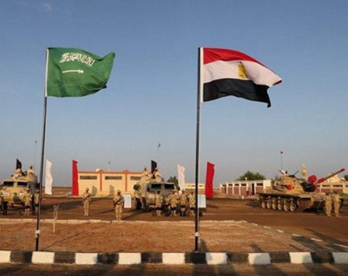 Egyptian, Saudi Armed Forces Launch Tabuk 4 Drills