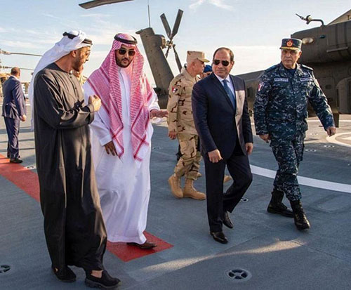 Egyptian President Inaugurates Red Sea's Largest Military Base