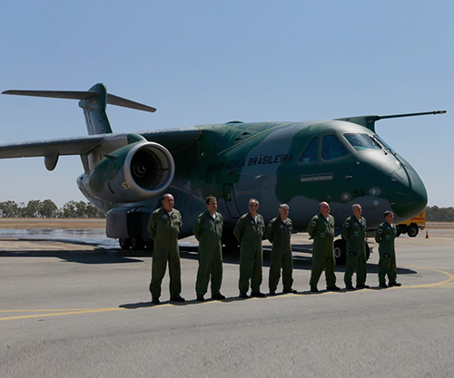 Embraer Delivers First Multi-Mission Airlift KC-390 to Brazilian Air Force